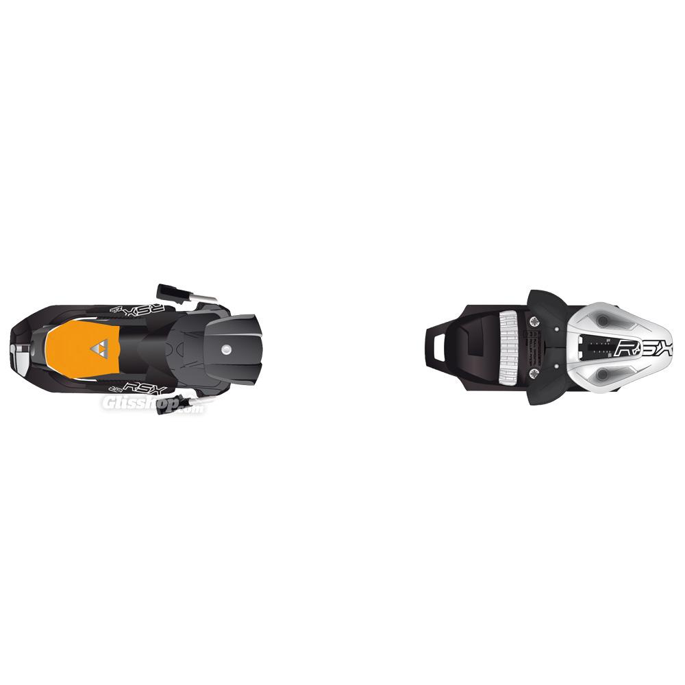 Fischer RSX 12 Powerrail Wide 88 Matt White Black Orange